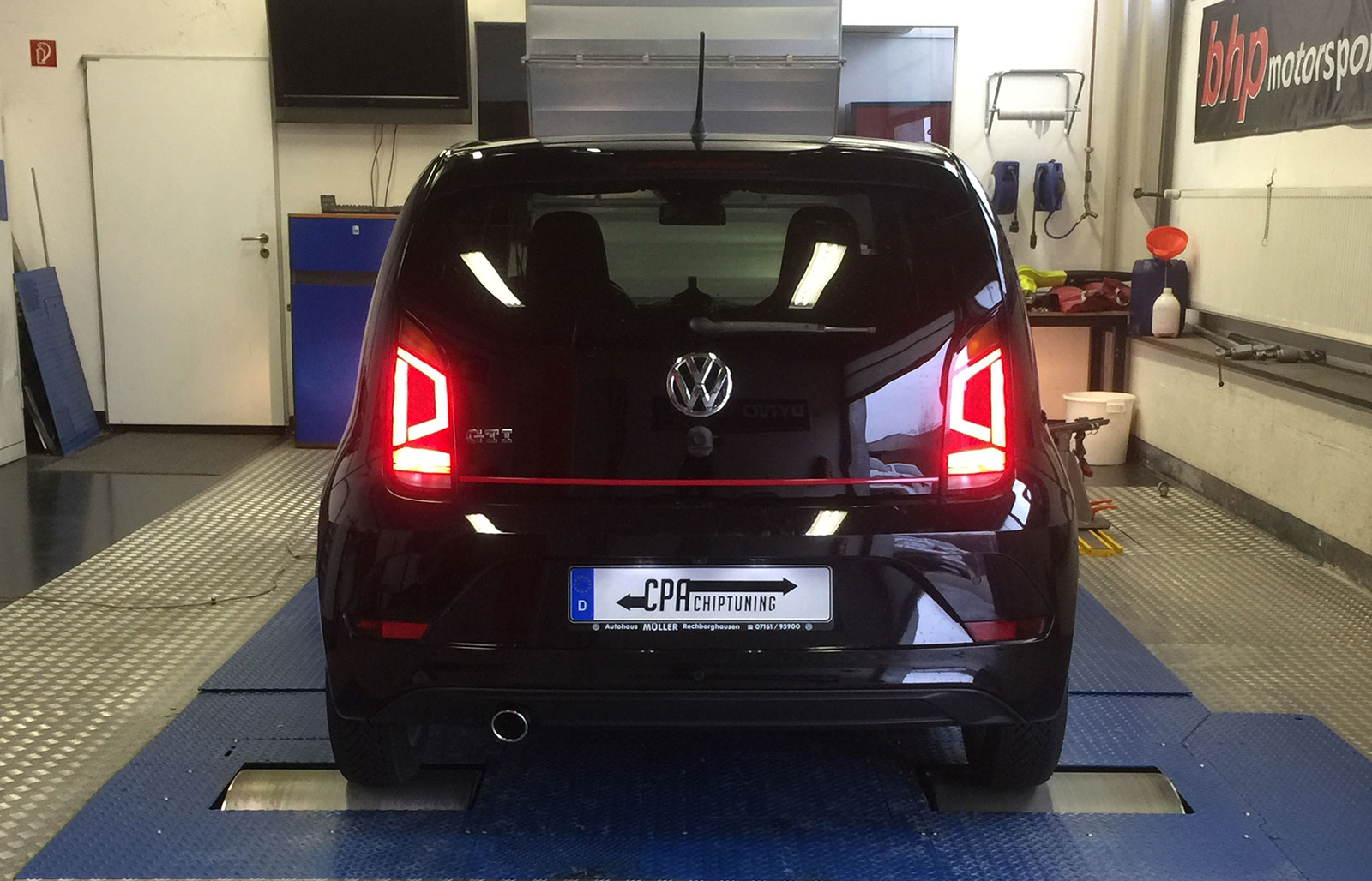Chiptuning pre VW UP GTI