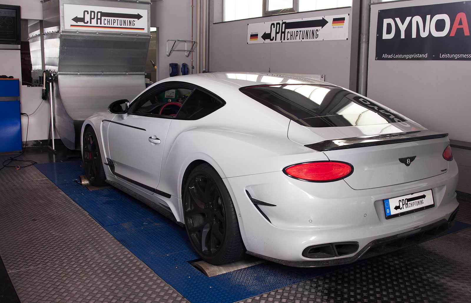 Na dyno: Bentley Continental GT V8