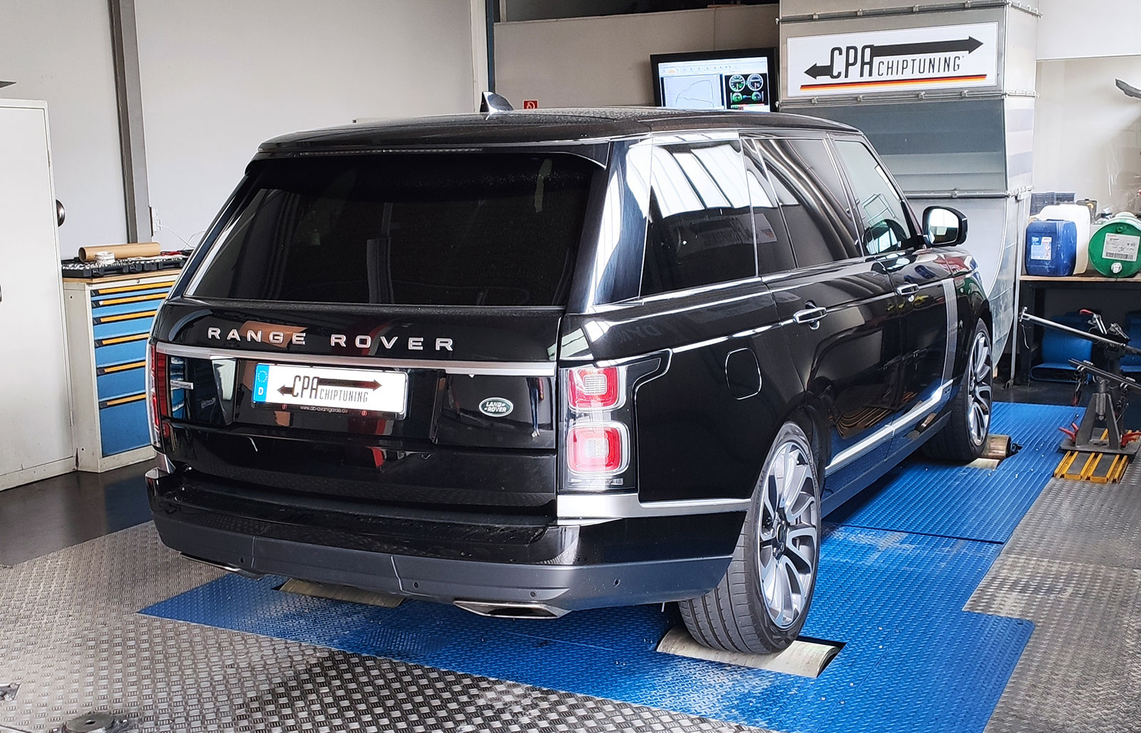 Chiptuning  Land Rover Range Rover V8 Supercharged