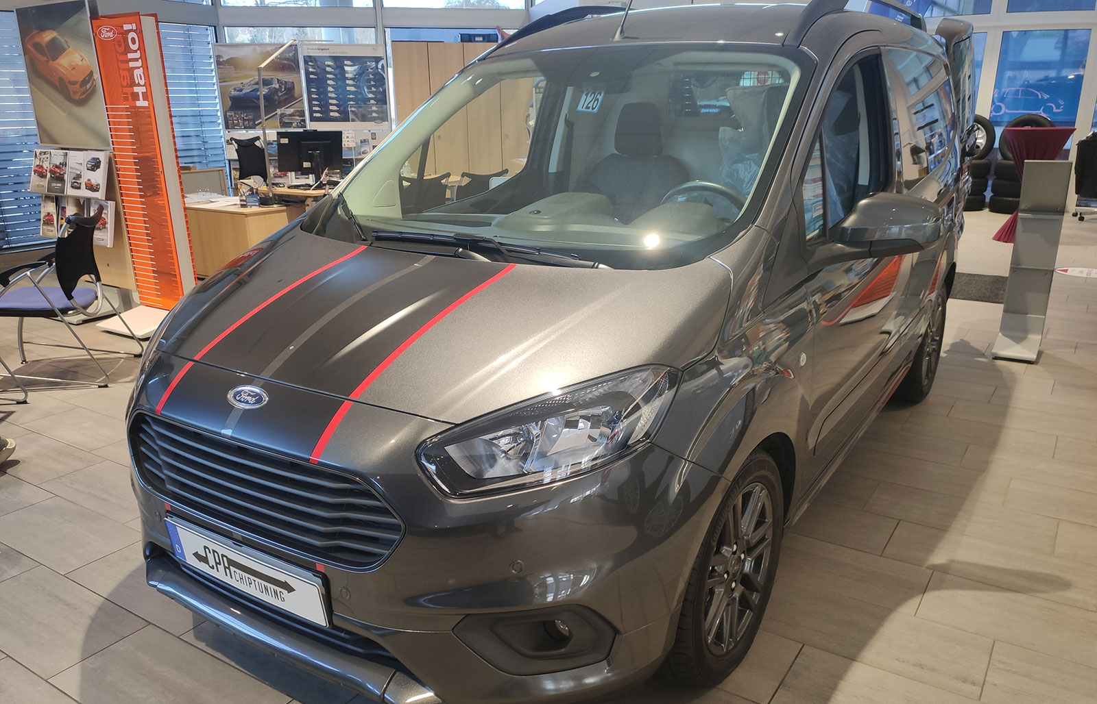Chiptuning Ford Transit/Tourneo Courier 1.0 EcoBoost